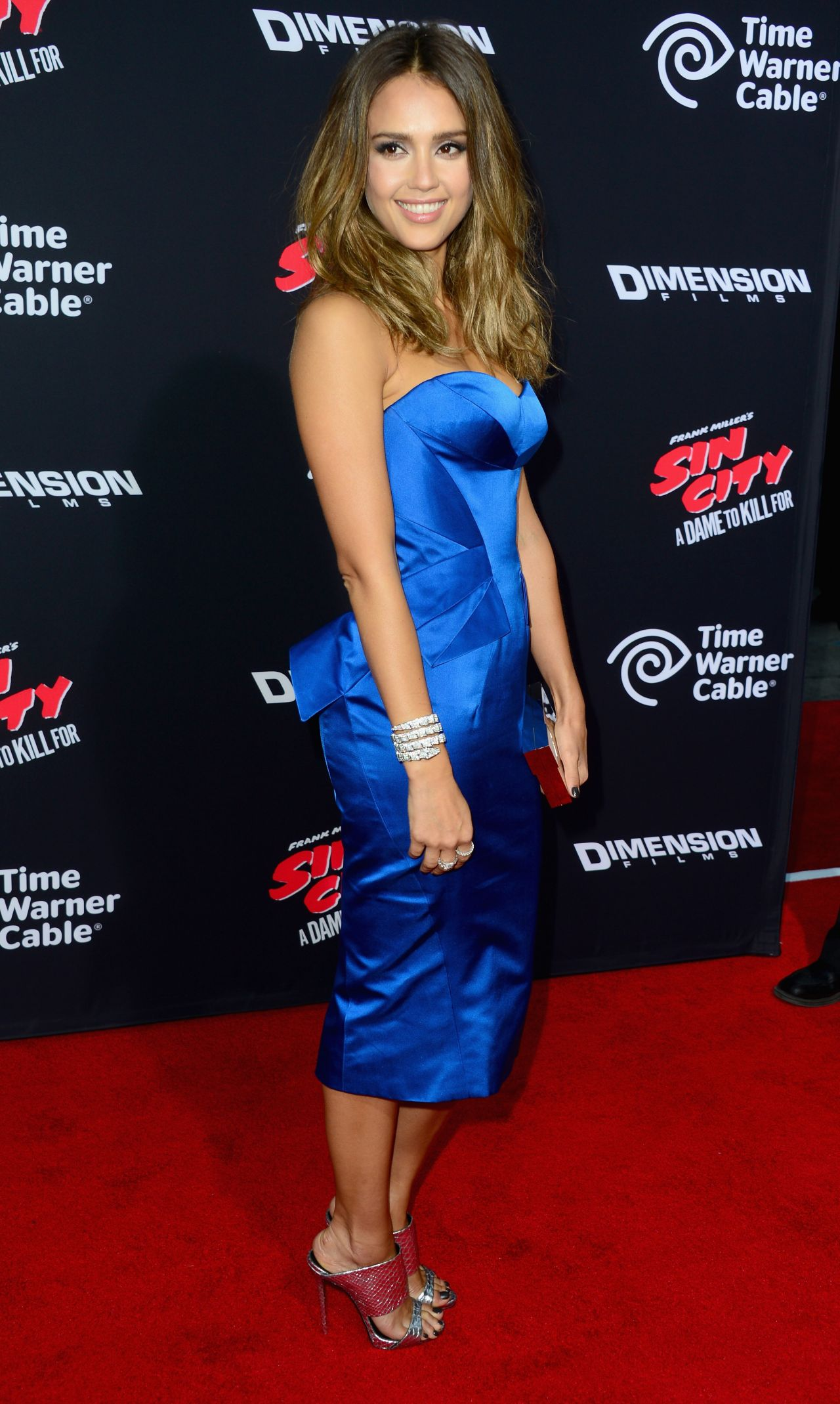 Jessica Alba Sin City A Dame To Kill For Premiere In