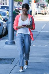 Jessica Alba Street Style - Out in Beverly Hills, August 2014