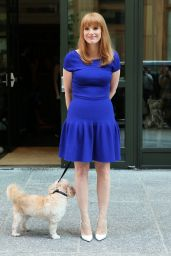 Jessica Chastain Style - Out in Manhattan - August 2014