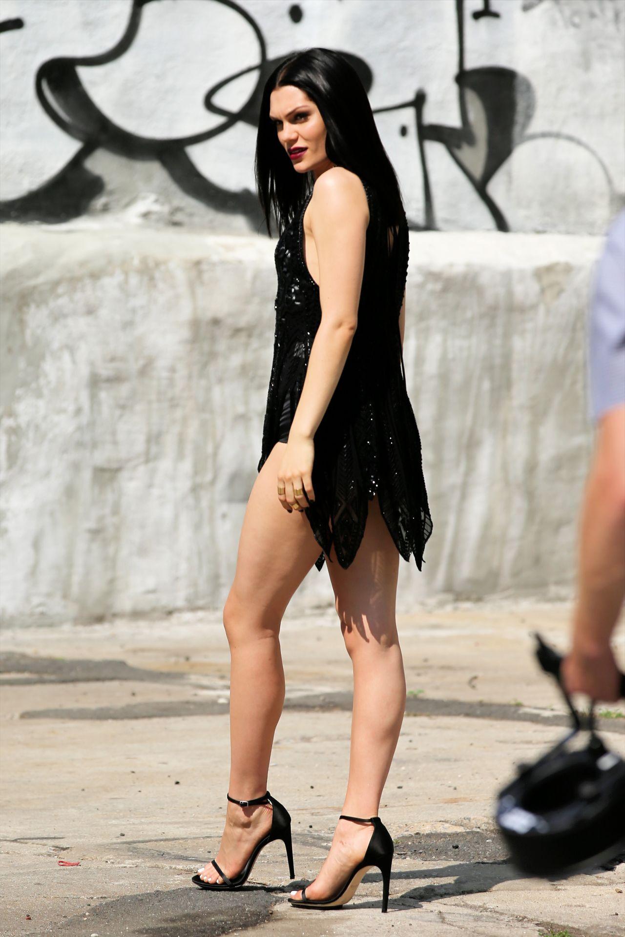 Jessie J - Photoshoot In New York City