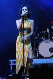 Jhene Aiko – V Festival at Hylands Park in London – August 2014