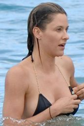 Jill Wagner Bikini Candids - Beach in Maui, August 2014