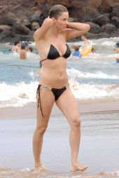 Jill Wagner Bikini Candids - Beach in Maui, August 2014