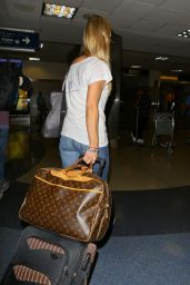 Joanna Krupa at LAX Airport - August 2014