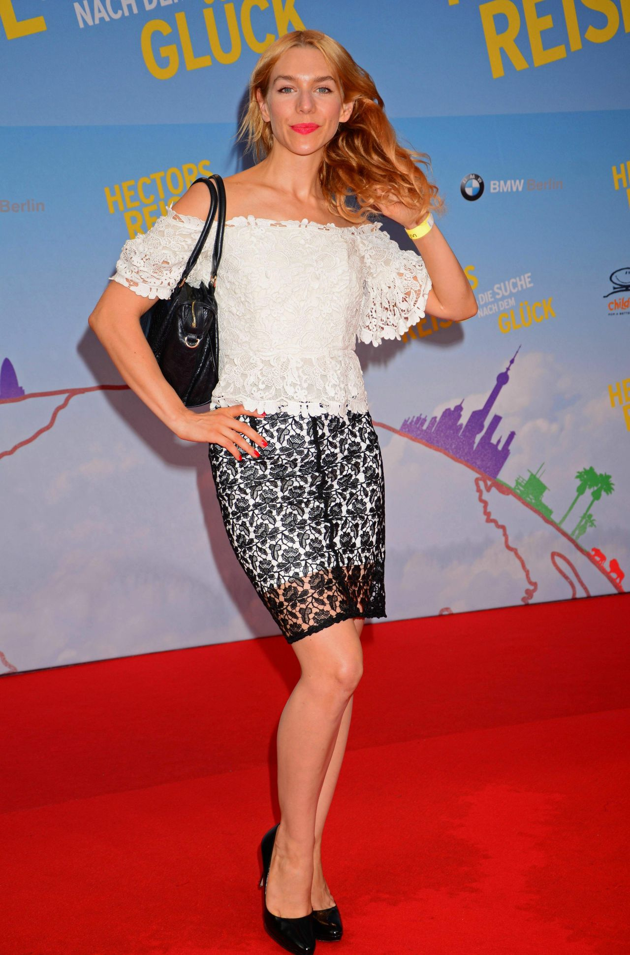 Julia Dietze Hector S Journey Movie Premiere In Berlin
