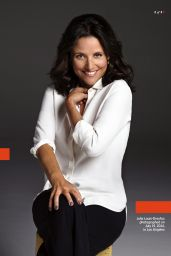 Julia Louis-Dreyfus - Entertainment Weekly - August 15, 2014 Issue