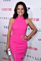 Julia Louis-Dreyfus - Vanity Fair and Maybelline Toast of