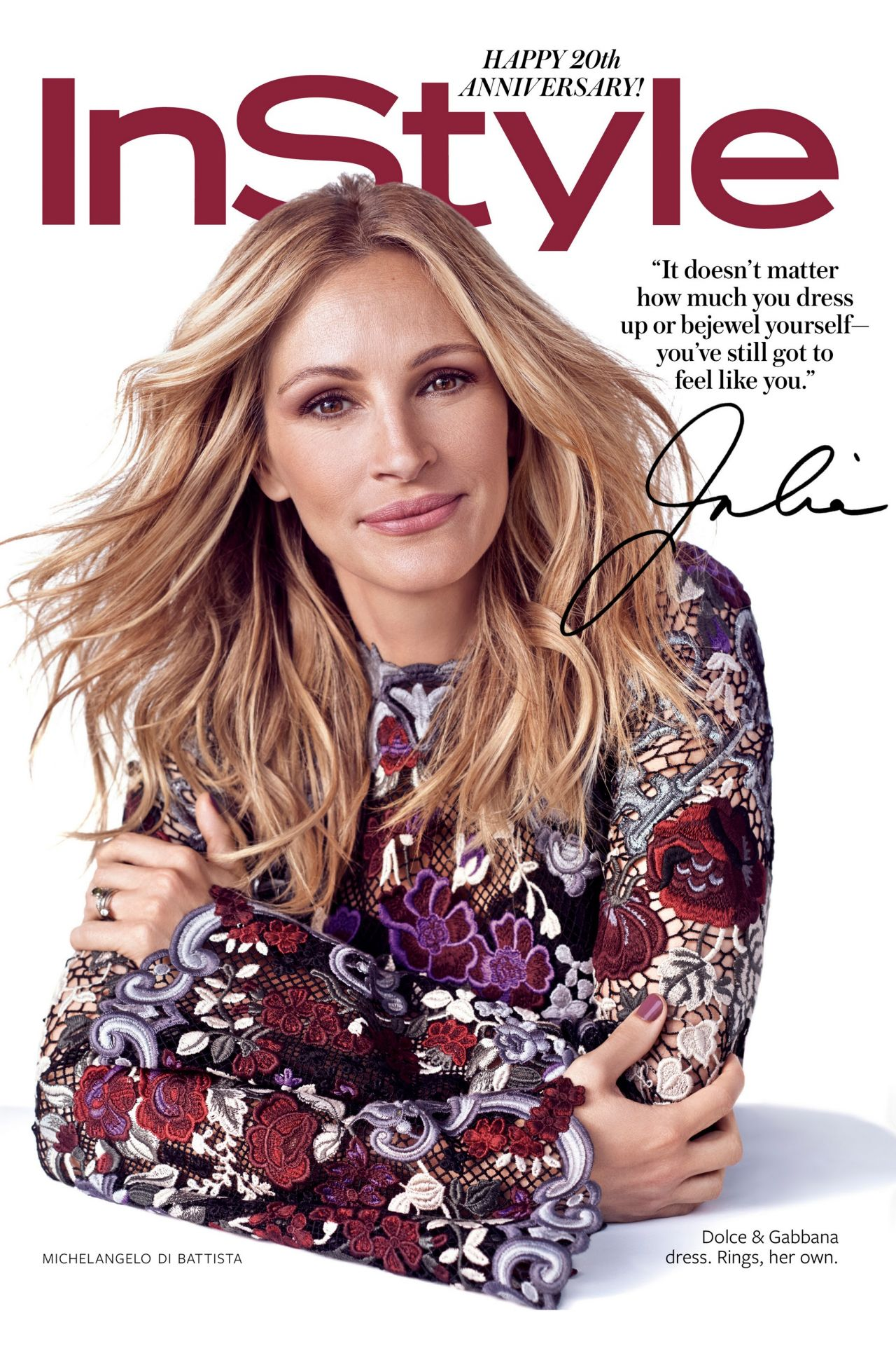 Instyle Magazine Us: September 2014 Cover
