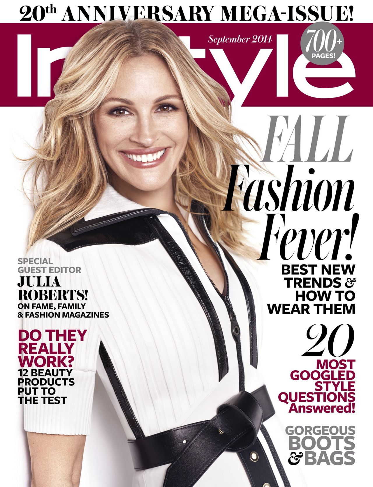 julia roberts instyle magazine september 2014 cover. Black Bedroom Furniture Sets. Home Design Ideas