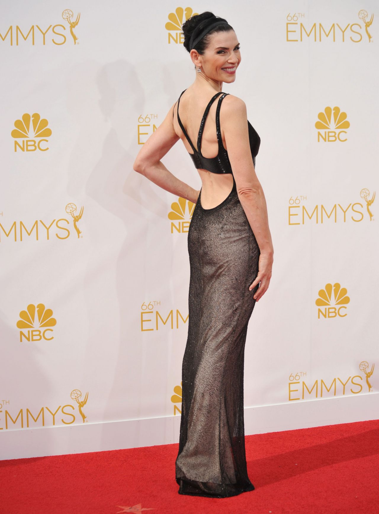 Julianna Margulies 2014 Primetime Emmy Awards In Los Angeles