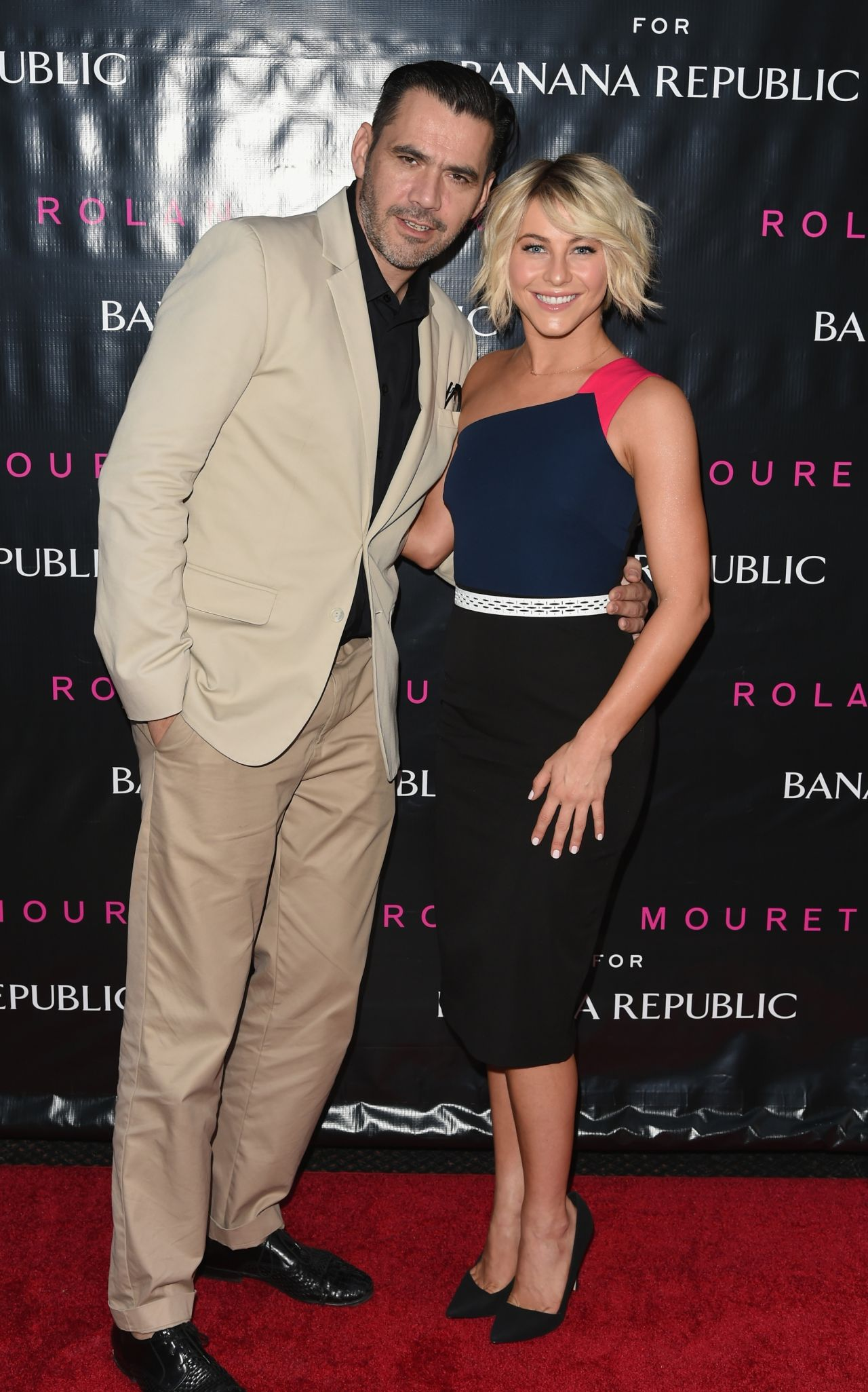 Julianne Hough - Banana Republic Debuts Roland Mouret Line