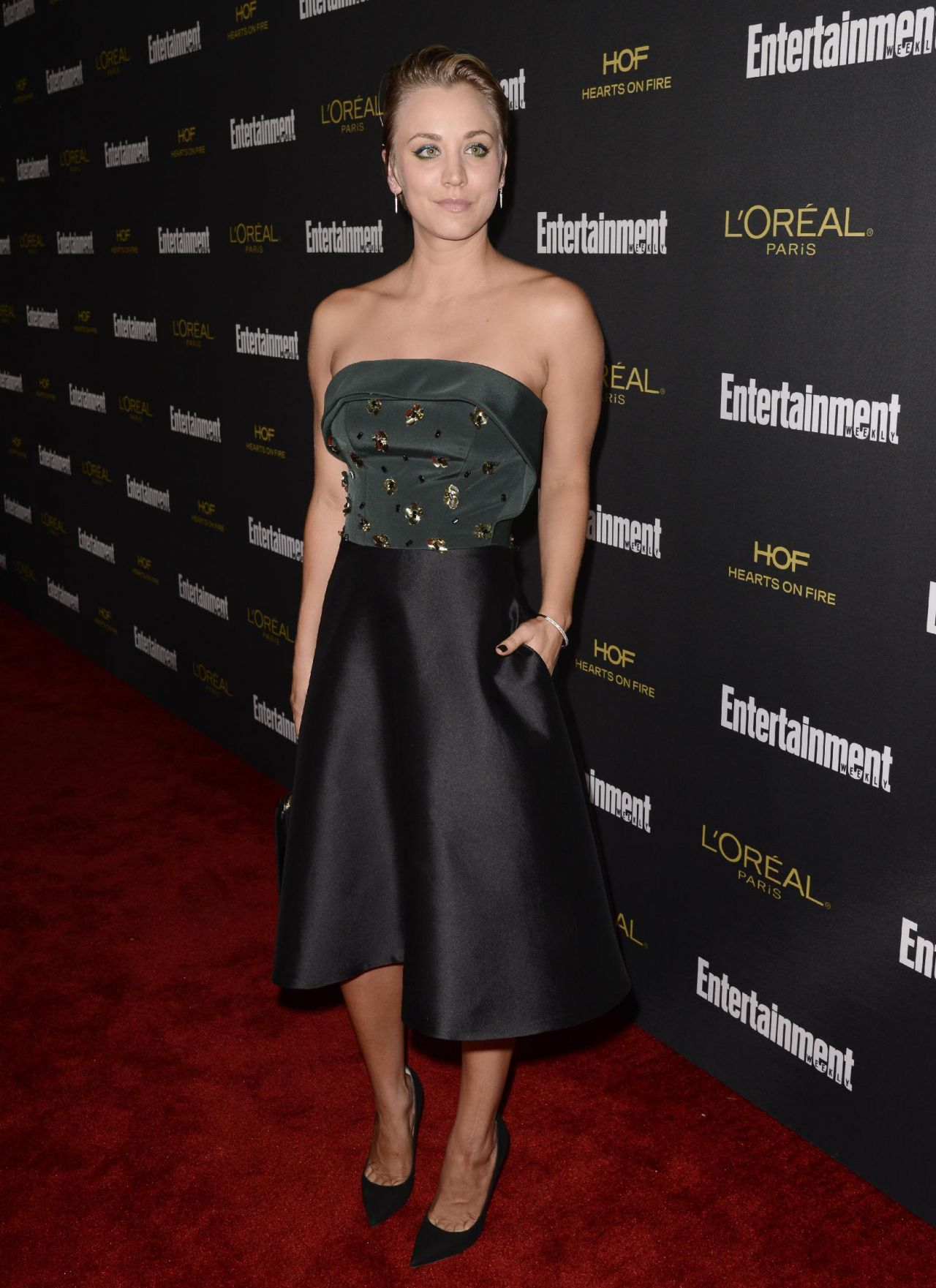 Kaley Cuoco – Entertainment Weekly's Pre-Emmy 2014 Party in West Hollywood