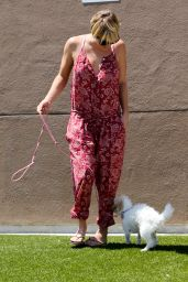 Kaley Cuoco - Leaving the Vet in Los Angeles - July 2014