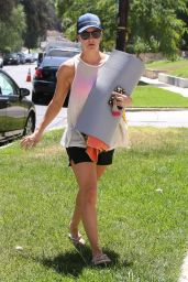 Kaley Cuoco - Leaving Yoga Class in Sherman Oaks - August 2014