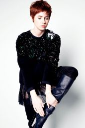 Karen Gillan - Photoshoot for InStyle Magazine September 2014