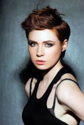 Karen Gillan - Photoshoot for Scotland on Sunday