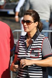 Katarina Witt at Hamburg-Berlin Klassik Rally - August 2014