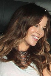 Kate Beckinsale Night Out Style – Leaving Largo in West Hollywood – August 2014