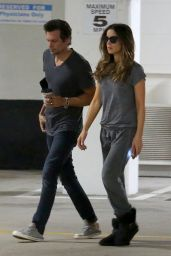 Kate Beckinsale Street Style - Out in Santa Monica, August 2014