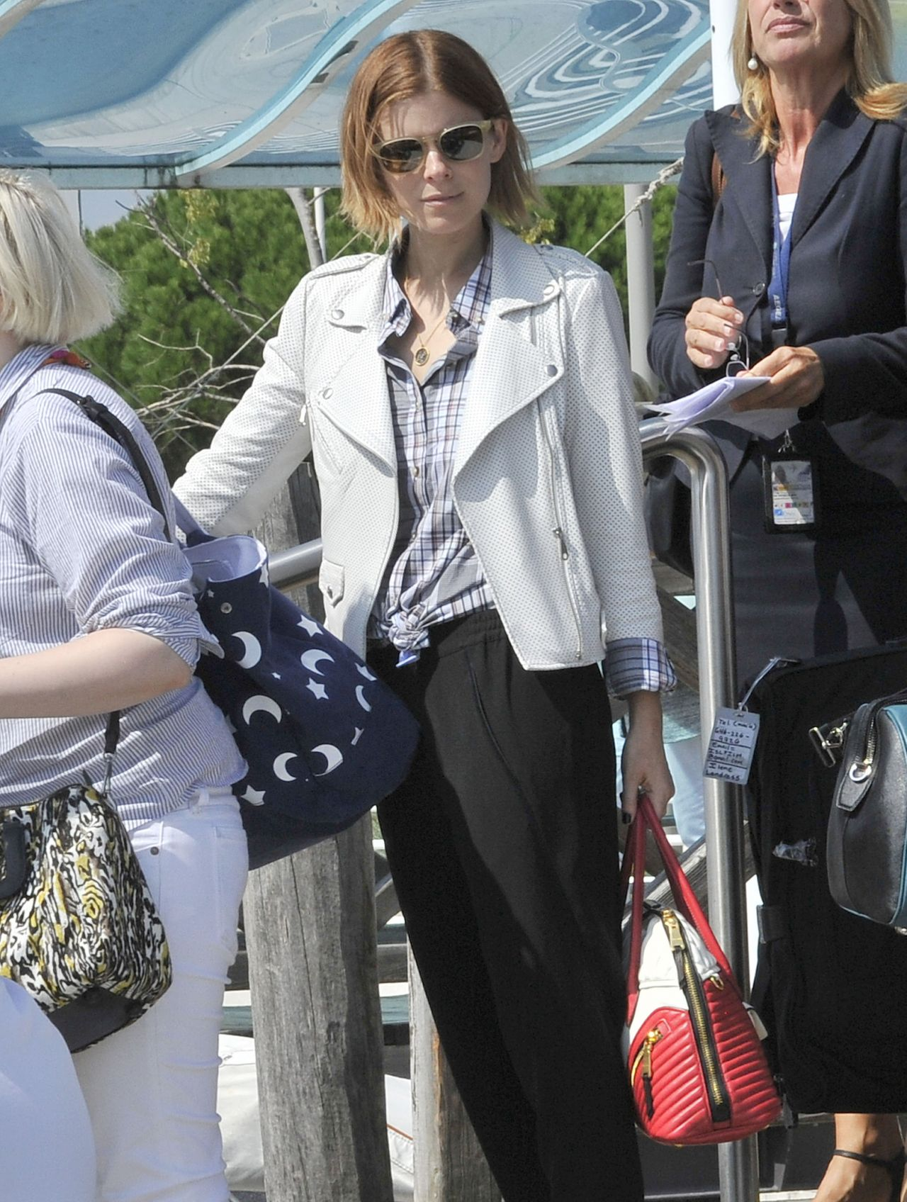 Kate Mara Out in Venice - Aug 2014
