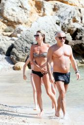Kate Moss Bikini Candids - July 2014