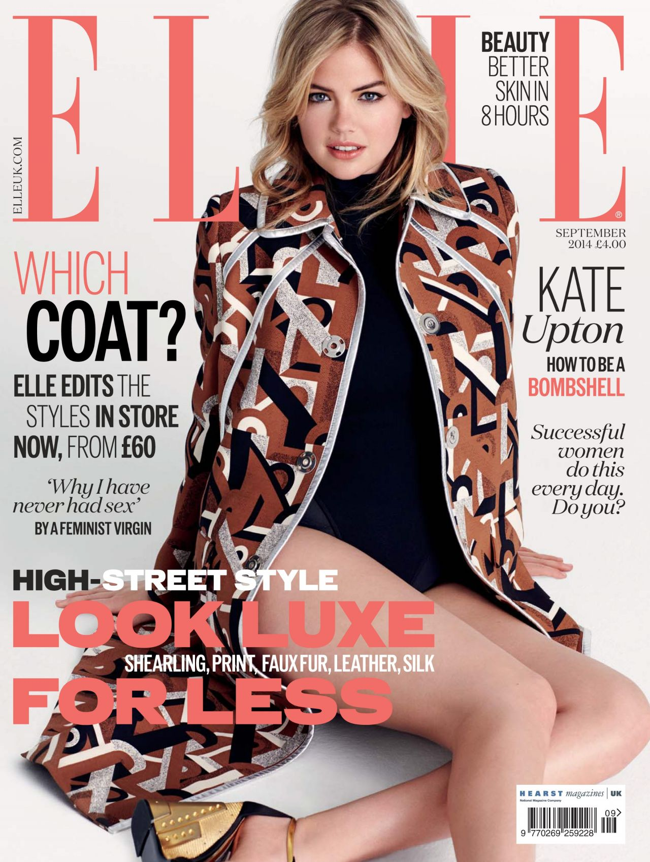 Elle Magazine France February March: September 2014 Cover