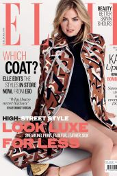 Kate Upton - Elle Magazine (UK) - September 2014 Cover
