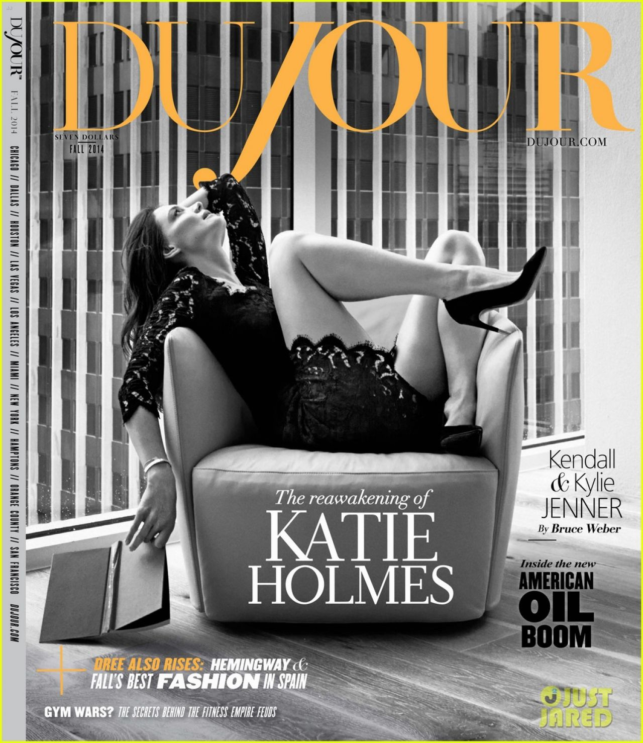 Katie Holmes - DuJour Magazine Fall 2014 Issue