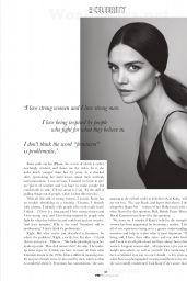Katie Holmes - Elle Magazine (South Africa) - September 2014 Issue