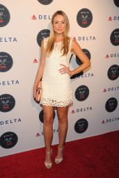 Katrina Bowden Attends the Delta OPEN Mic at Arena - August 2014