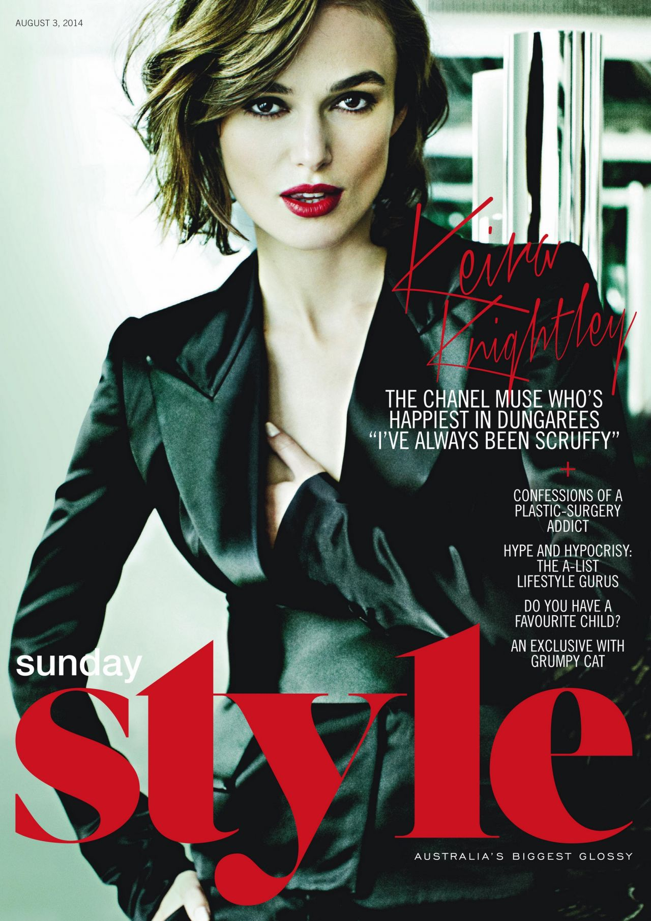 Keira Knightley - Sunday Style Magazine (Australia) - August 3, 2014