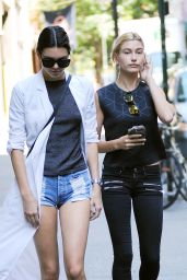 Kendall Jenner and Hailey Baldwin Out in New York City