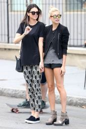 Kendall Jenner & Hailey Baldwin - Hailing a Cab in New York City - Aug. 2014