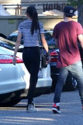 Kendall Jenner in Tights - Out in LA, August 2014