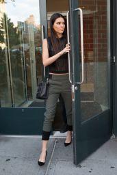 Kendall Jenner – Leaving Kanye's Apartment in Soho, New York City