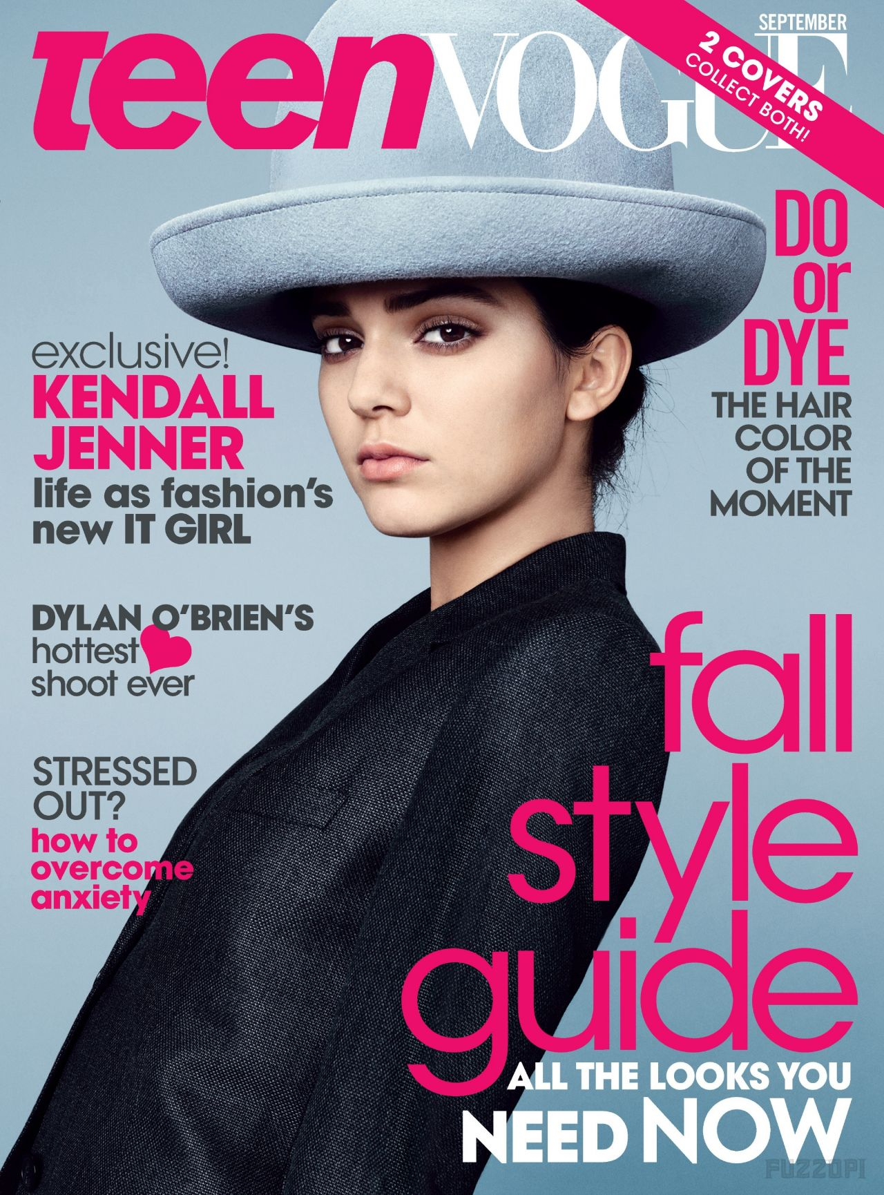 Kendall Jenner - Teen Vogue Magazine - September 2014 Cover
