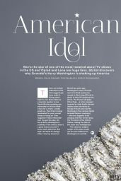 Kerry Washington - Stylist Magazine (UK) - July 23, 2014