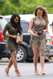 Khloe Kardashian at Duck Walk Vineyards in Watermill, NY - August 2014
