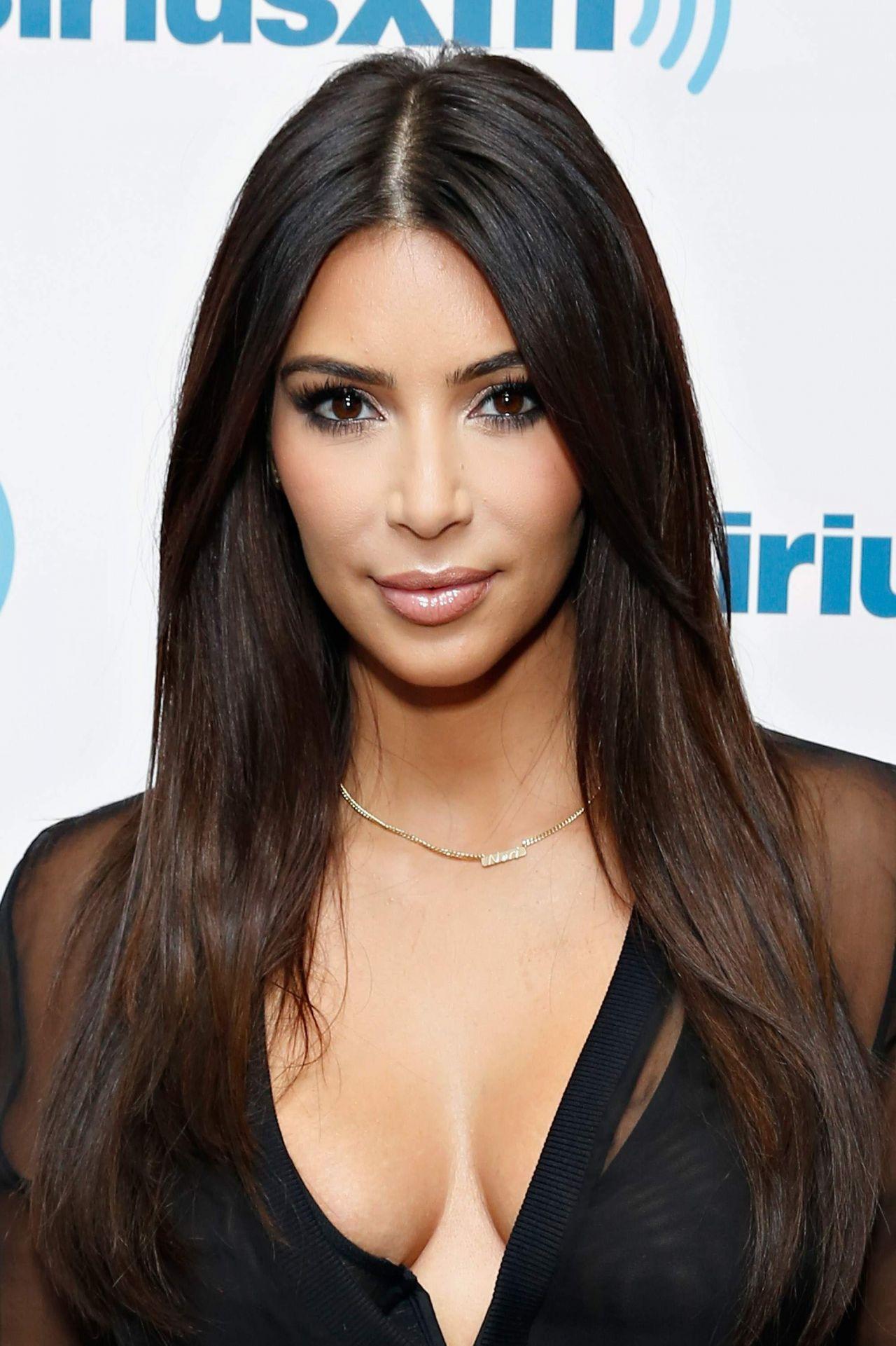 Kim Kardashian Interviews Kylie Jenner About Her Best: Kim Kardashian At The SiriusXM Studios In New York City