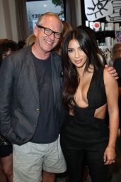 Kim Kardashian - Cassandra Huysentruyt Grey Hosts Artist In Residence Donald Robertson in Los Angeles