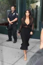 Kim Kardashian - Out in New York City - August 2014