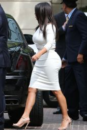Kim Kardashian Style - Leaving The Peninsula Beverly Hills - August 2014