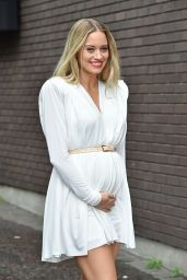 Kimberley Wyatt Outside The London Studios - August 2014