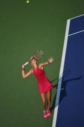 Kristina Mladenovic – 2014 U.S. Open Tennis Tournament in New York City – 1st Round