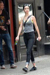 Krysten Ritter - Outin New York City - July 2014