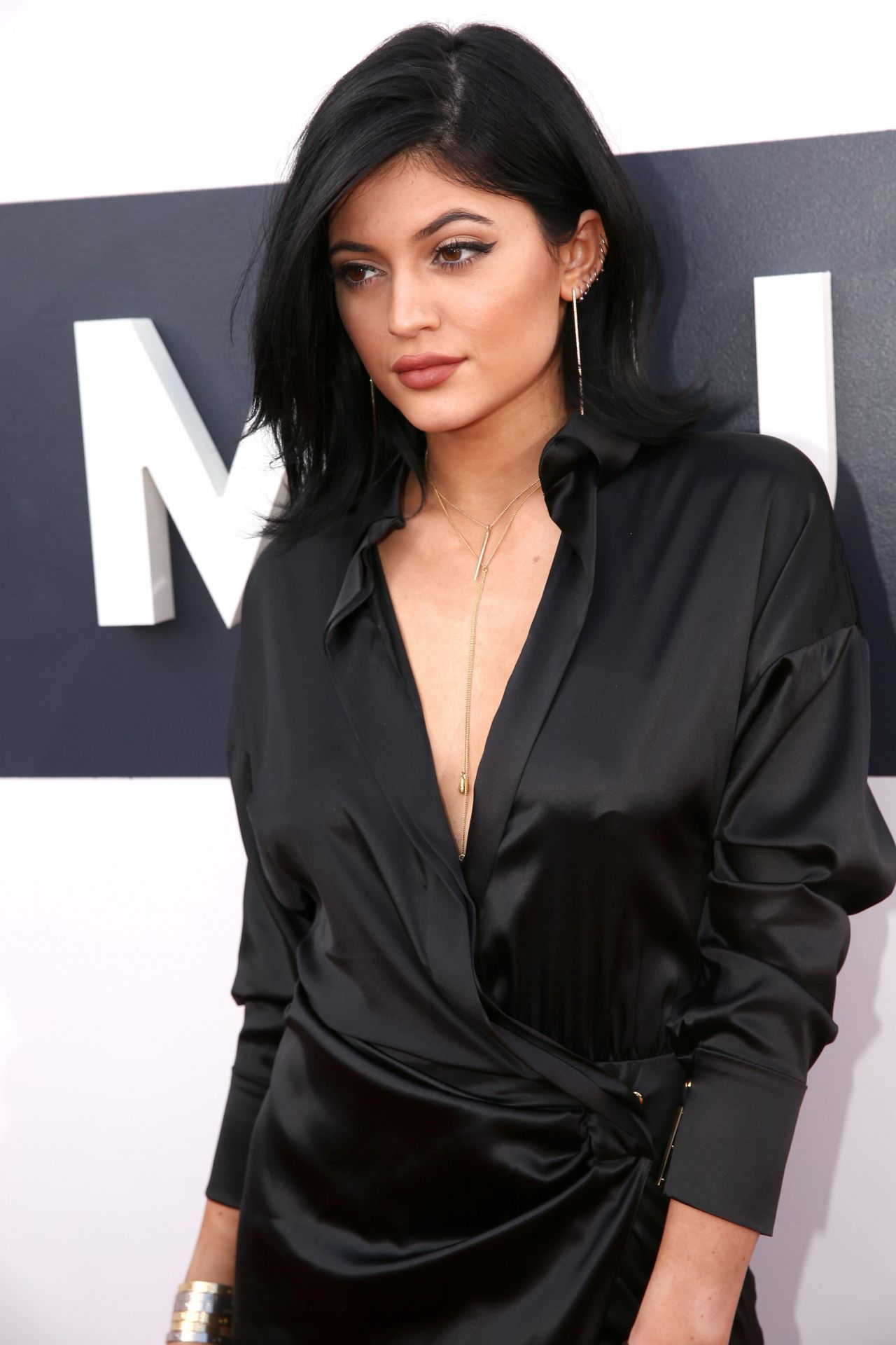 Kylie Jenner Arrives On The Red Carpet At Our Balmain X H: 2014 MTV Video Music Awards In Inglewood