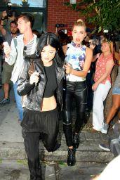 Kylie Jenner and Hailey Baldwin - Leaving Kanye