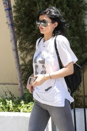 Kylie Jenner Booty in Jeans - Out in Calabasas, August 2014