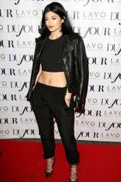 Kylie Jenner - DuJour Magazine Celebration in New York City - August 2014