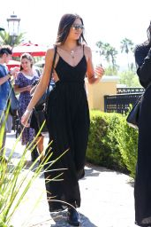 Kylie Jenner Enjoys Her Birthday Lunch With Kendall - August 2014